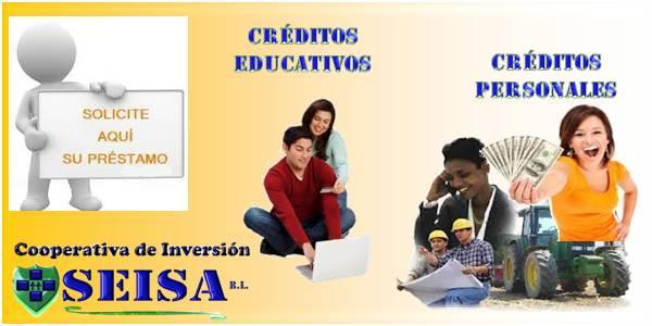Créditos Personales Educativos